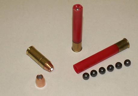 "Judge Kit 45 long Colt, 3"" .410 buck 00,  45 rounds"